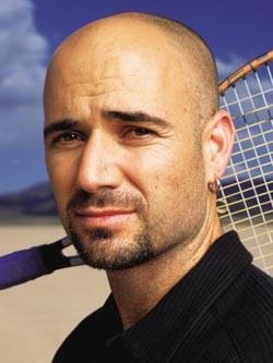 Андре Агасси — в 1995 году он стал первой ракеткой мира