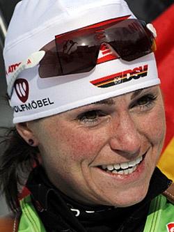 Андреа Хенкель — известная немецкая биатлонистка.