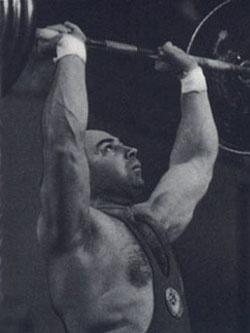 Аркадий Воробьев — призер мирового первенства по штанге