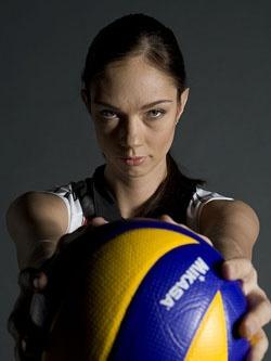 Екатерина Гамова — знаменитая российская волейболистка.