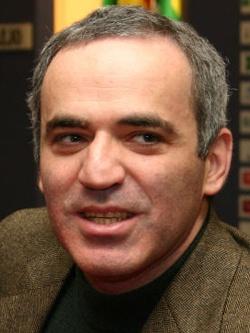 Гарри Каспаров — чемпион мира по шахматам