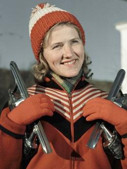 Лидия Скобликова — шесть раз она стала олимпийской чемпионкой!