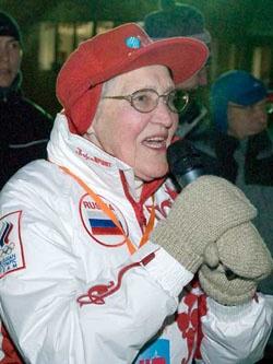 Любовь Баранова — трижды чемпионка мира в лыжных гонках