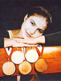 Людмила Турищева — чемпионка мира и Олимпийских игр.