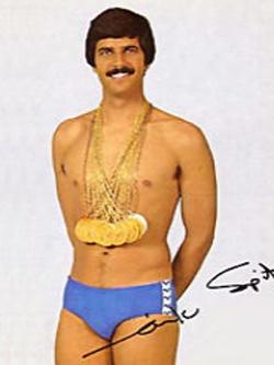 Марк Эндрю Спитц — мировой рекордсмен в плавании