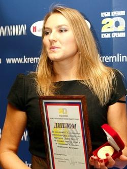 Надежда Петрова — звезда российского тенниса.