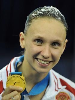 Наталья Ищенко — 12-кратная чемпионка мира по синхронному плаванию.
