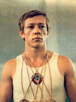 Николай Андрианов — обладатель многочисленных наград по спортивной гимнастике