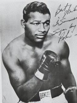 Рэй Робинсон — его признали самым лучшим боксёром всех времён и народов.