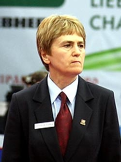 Светлана Федорова — многократная чемпионка СССР по теннису.