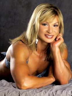 Валентина Чепига — «Мисс Олимпия» 2000 года.
