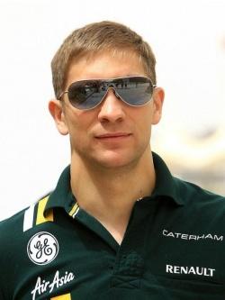 Виталий Петров — русский пилот «Формулы-1″.