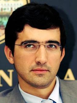 Владимир Крамник — чемпион мира по шахматам.