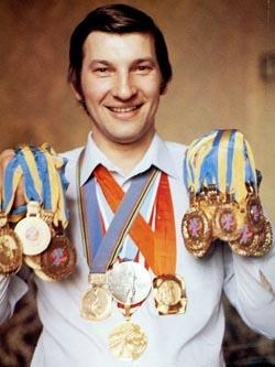 Владислав Третьяк — самый знаменитый в мире хоккейный вратарь.