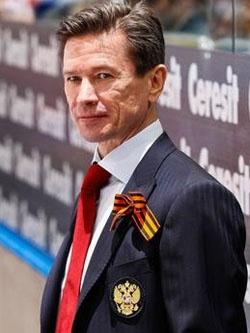 Вячеслав Быков — под его руководством российские хоккеисты стали мировыми чемпионами.