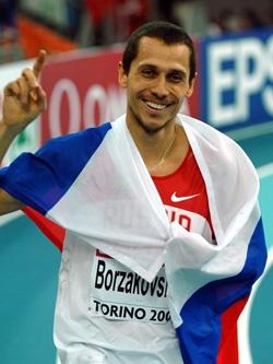 Юрий Борзаковский — чемпион мира в легкой атлетике