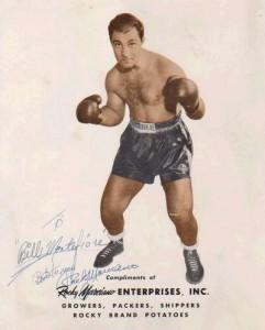 Рокки Марчиано - великий боксер с великой силой воли