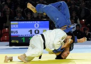 В первый день чемпионата мира по дзюдо сборная России осталась без медалей