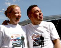 Завершился автопробег «Вместе с Костей Цзю!»