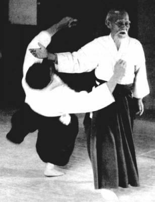 Основатель айкидо Морихей Уэсиба