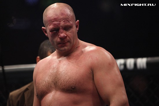 Результаты турнира Strikeforce Fedor vs. Silva