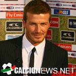 Бекхэм: «»Милан» может обогнать «Интер»»