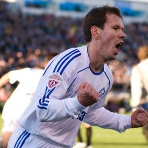 К. Зырянов - авттор первого гола в матче Зенит - Спарта (Москва)