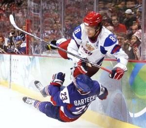 Олимпиада. Хоккей: Россия — Словакия
