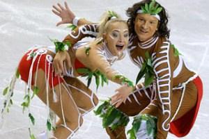Танцы на льду: Домнина — Шабалин