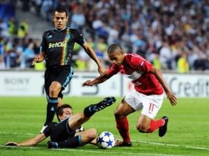 Футбол. Лига чемпионов 2010: Марсель — Спартак