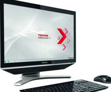 Toshiba анонсировала моноблок модели Qosmio DX730