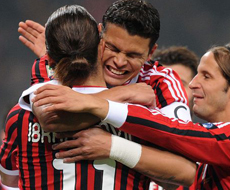 «Милан» разгромил «Кьево»
