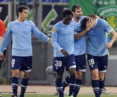 «Лацио» обыграл «Спортинг» и вышел в плей-офф Лиги Европы