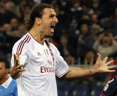«Милан» выигрывает в Генуе